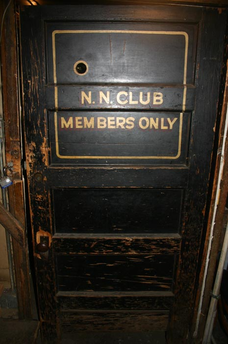 Speakeasy 1920 Door