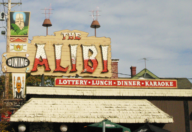 The Second Oldest Tiki Bar in the Country - The Alibi Tiki Lounge