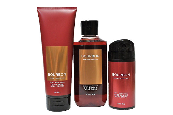 bath and body works fathers day bourbon gift
