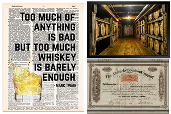 bourbon wall art fathers day gift