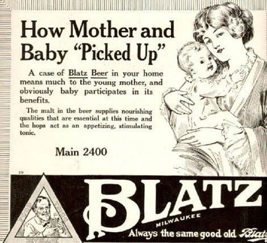 Apparently Kids in Beer Ads Was a Thing