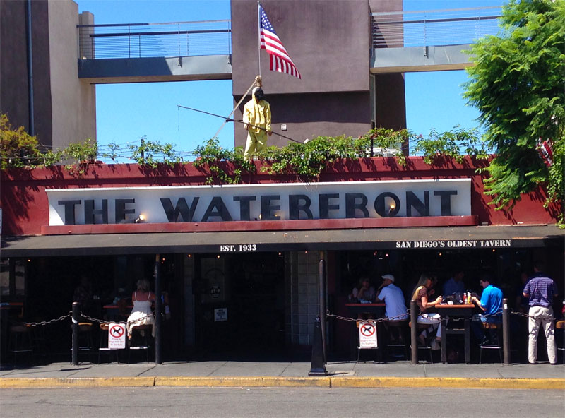 The Waterfront Bar and Grill, San Diego CA